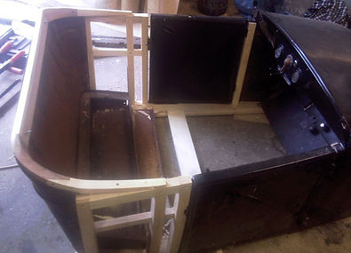 Replacement joinery for vintage car bodywork