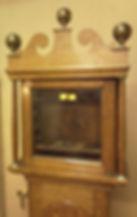 Clock case following restoration
