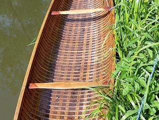 Felix's Canoe. She Floats!