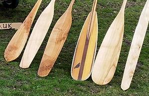 Wooden Canoe Paddles For Sale