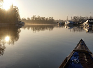 Easter on the Norfolk Broads Day 2.