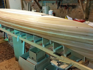 Peterborough's 10 and 11 How I make my Canoes. Part 2