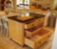 Bespoke kitchen island unit