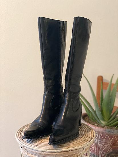 Vintage Mod Boots - Size 8
