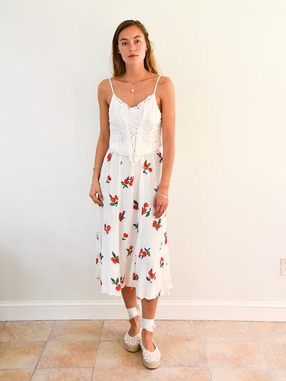 60's Cherry Skirt