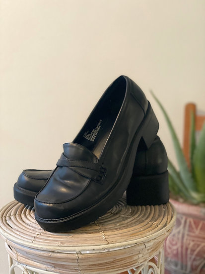 90's Lifted Loafers - Size 8.5
