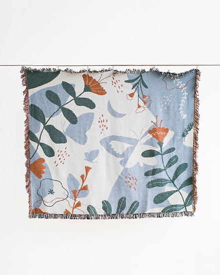 Creatures of the Wild Tapestry Throw