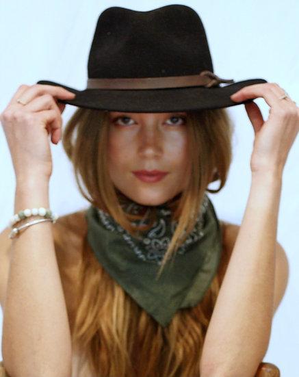 Vintage Felted Hat