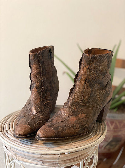 Western Ankle Boot - Size 8.5