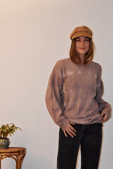 Vintage Sweater, Hand Dyed