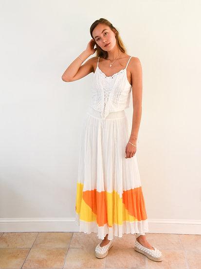 Sunset Gauze Skirt
