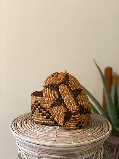 African Jewelry Basket