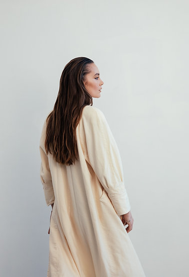 Merino Wool Robe Coat