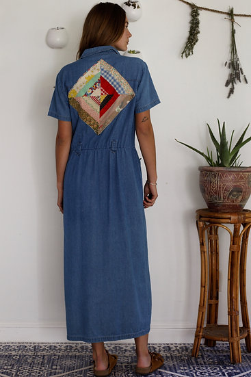 Vintage Reworked Duster/ Dress