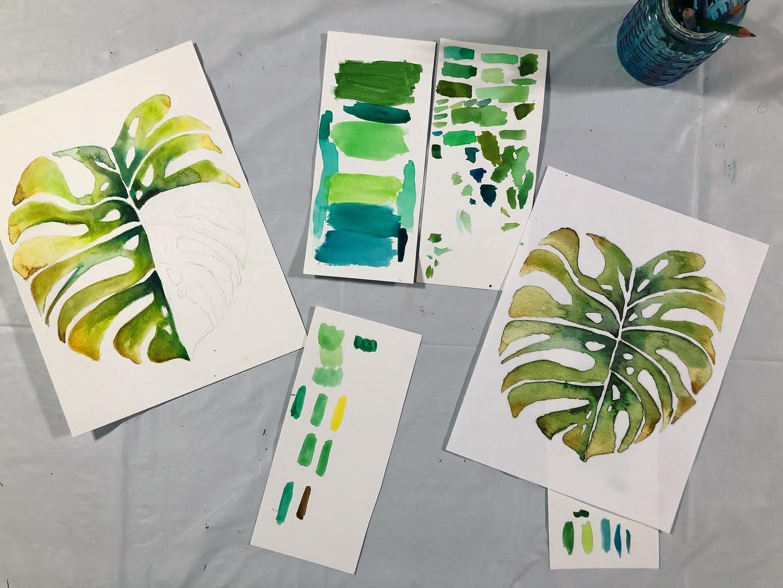 4-week Watercolor Painting