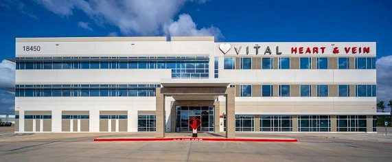Vital Heart & Vein Award-Nominated Sign