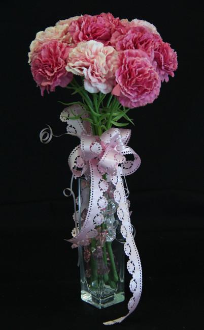 Pretty Pinks in Vase