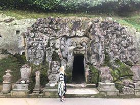 Meditating in Caves in Bali