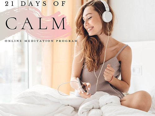 21 Days of Calm Meditation