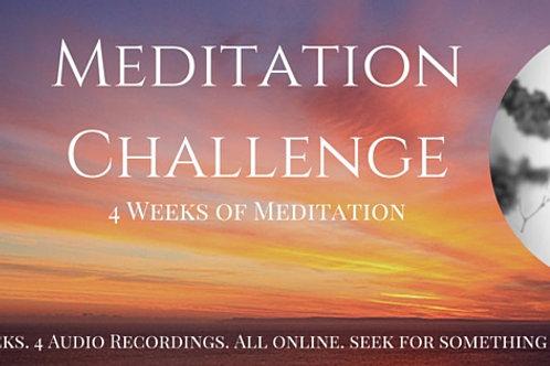 4 Weeks of Meditation E Program