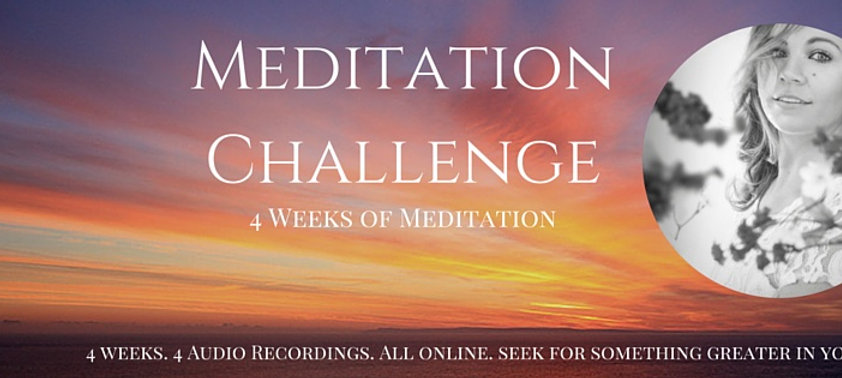 4 Weeks of Meditation E Program