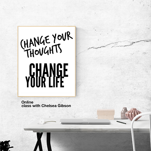 Change your thoughts online class