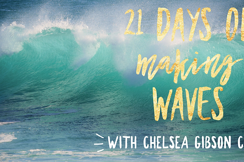 21 Days of Making Waves Online