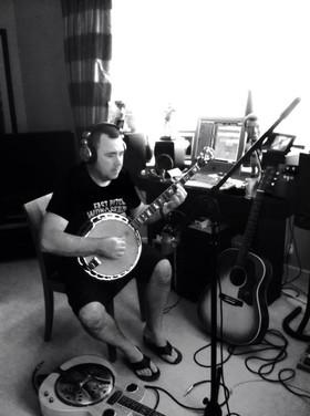 Recording Banjo (Liverpool)