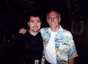 Pete with Larry Carlton Chicago (USA)