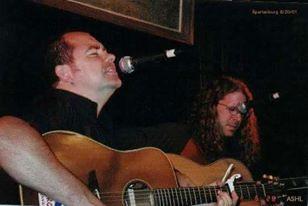 Pete with Gibb Droll (USA)
