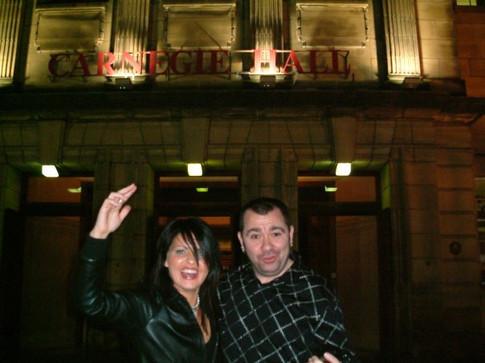 Carnegie Hall with Michelle Lawson (Scotland)