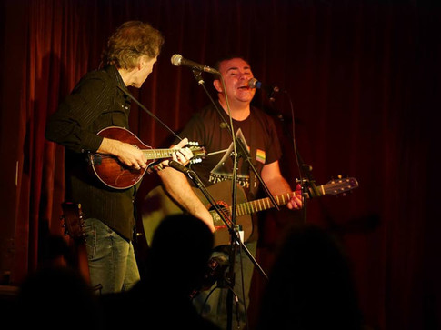 Pete and Brooks Williams (London Green Note Camden)