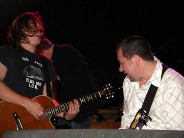 Pete with Edwin McCain Band (USA)