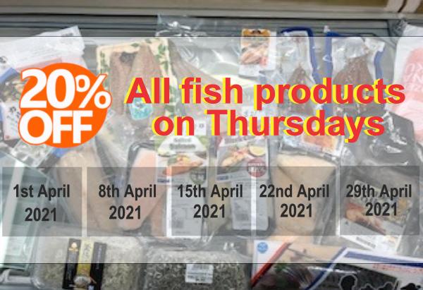 20% off April Special 2021