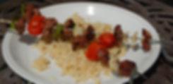 Goat (Chevon) Shish Kebabs