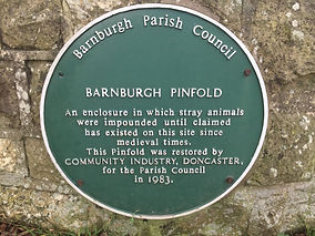 Picture of plaque on the Pinfold
