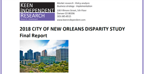 2018 City of New Orleans Disparity Study Final Report (download)