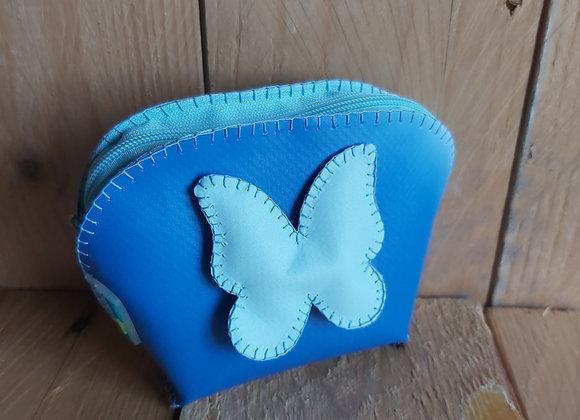 Porta-moedas com borboleta
