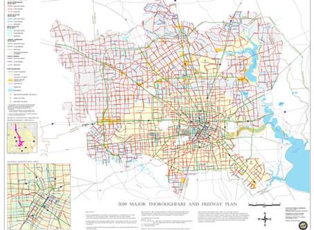 City of Houston Major Thoroughfare and Freeway Plan Explained