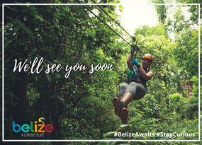 Stay Curious - Zip-lining in Belize