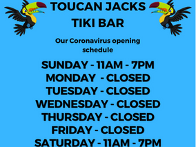Change in Bar Hours!