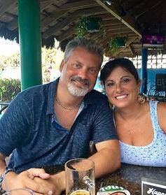 Owners Craig Densham and Risa Scutellaro