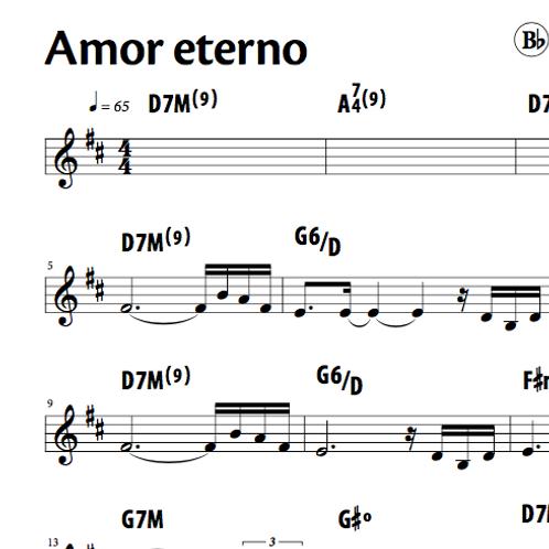 Amor Eterno - Silvério Pontes (Bb)