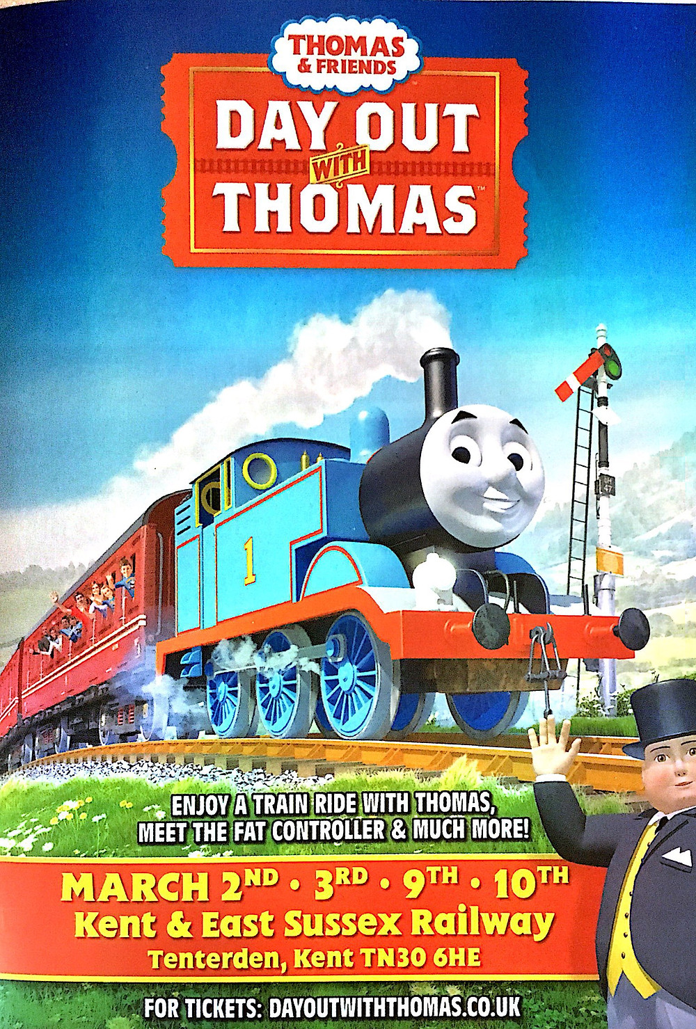 Come see Thomas the Tank Engine and Friends