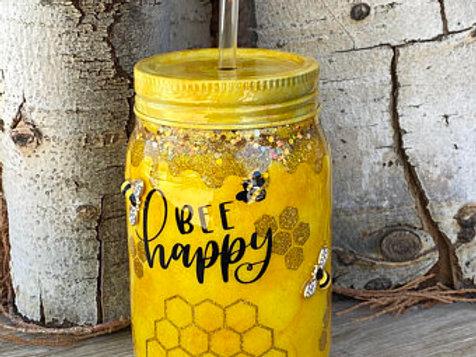 Bee Happy - 20 oz. Tumbler
