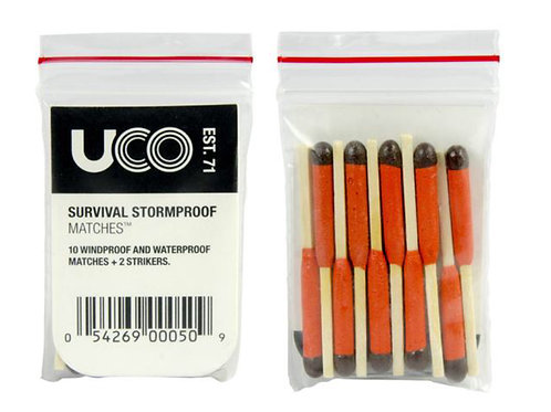 UCO Survival Stormproof Matches (10)