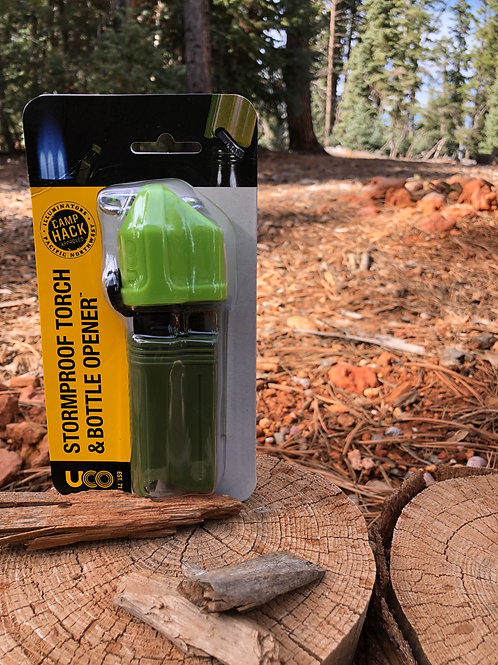UCO STORMPROOF TORCH & BOTTLE OPENER