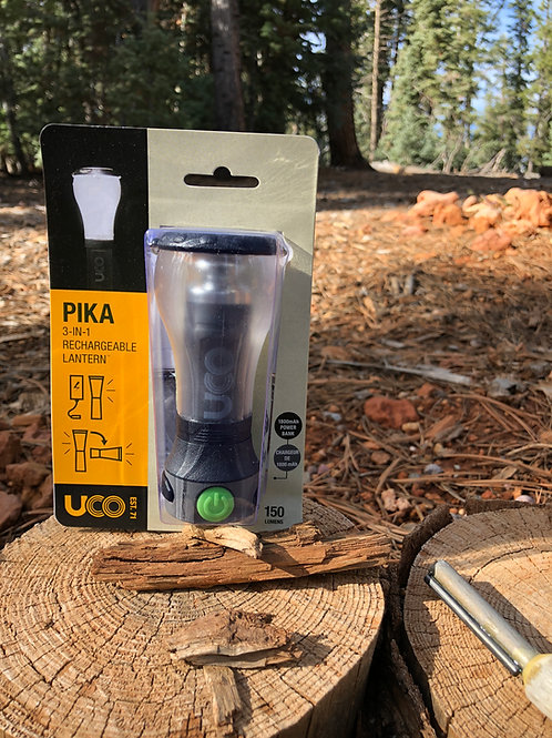 PIKA 3-IN-1 Rechargeable Lantern