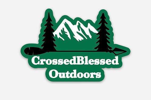 Sticker - CrossedBlessedOutdoors