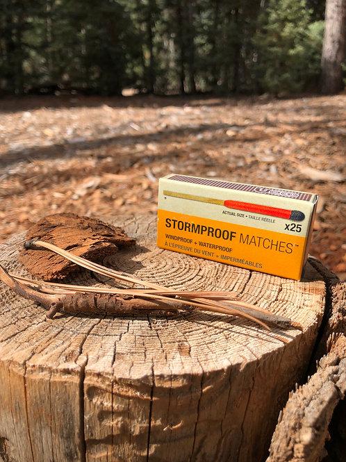 Stormproof Match Kit - 25 Matches x2